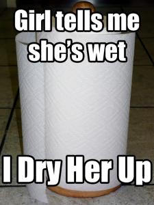 Socially Awkward Paper Towels