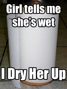 Socially Awkward Paper Towels