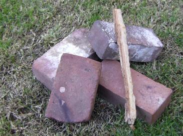 Four Bricks and a Stick