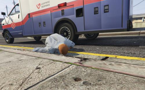 Ambulance Running Over