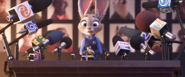 Zootopia Judy Hopps press conference