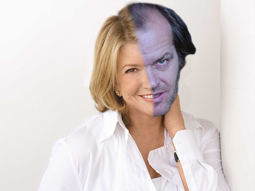 Martha Stewart and Jack Nicholson