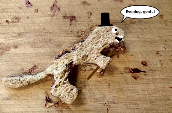 T-Rex Sandwich