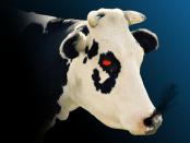 Moo satanic cow game